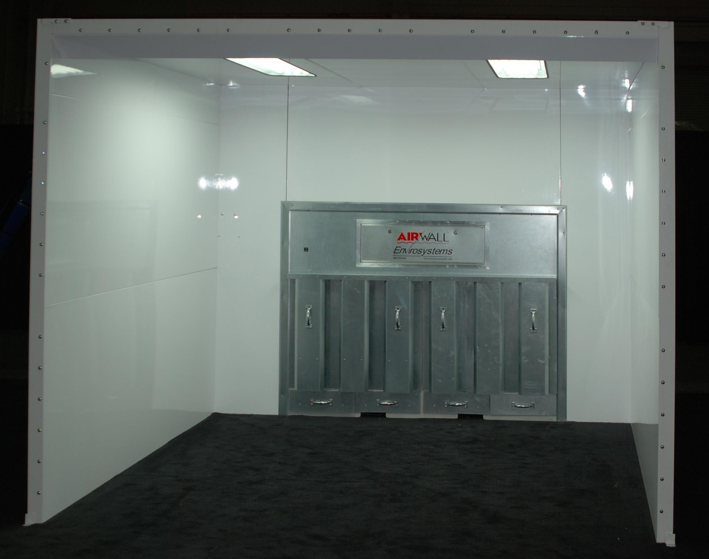 Ccb Systems Airwall Contamination Control Booth